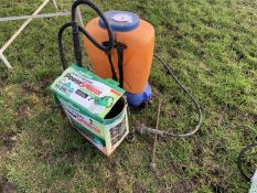 Knapsack & fence power sprayer