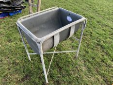 Blow dairy water trough