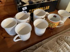 7 miscellaneous mugs