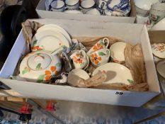 Box of Hancock Ivory ware