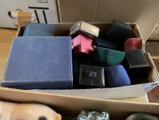 Box of jewellery boxes