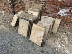 Qty paving slabs (not bricks)