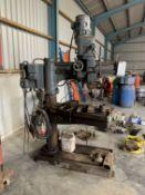 Kitchen & Wade Ltd Industrial pillar drill, 3ph with metal vice