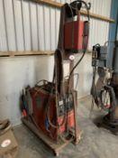 Murex Transmig 250A MIG welder, 3ph