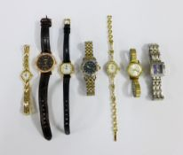 A collection of lady's wrist watches to include Rotary, Pulsar and Lorus etc (7)