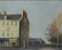 Stephanie Dees, RSW (B.1974) Top of Leith Walk, Mixed Media, signed and framed under glass, 20 x