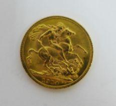 George V, 1914 full gold sovereign