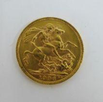 Edward VII, 1906 full gold sovereign