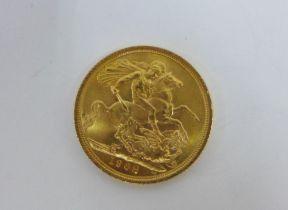 Elizabeth II, 1968 full gold sovereign