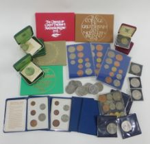 The Coinage of Great Britain and Northern Ireland proof sets to include 1973, 1974, 1975 & 1976