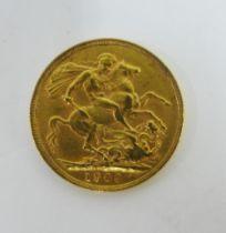 Edward VII, 1903 full gold sovereign