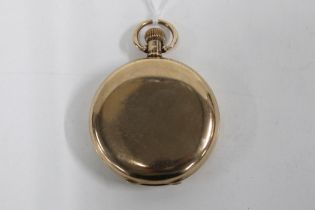 9ct gold Waltham full hunter pocket watch