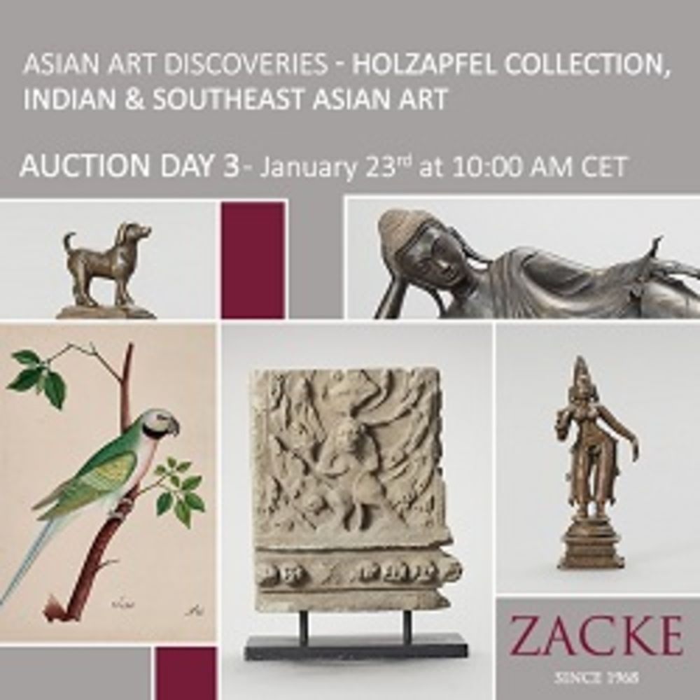 Asian Art Discoveries Day 3 - Porcelain from the Holzapfel Collection, Indian & Southeast Asian Art