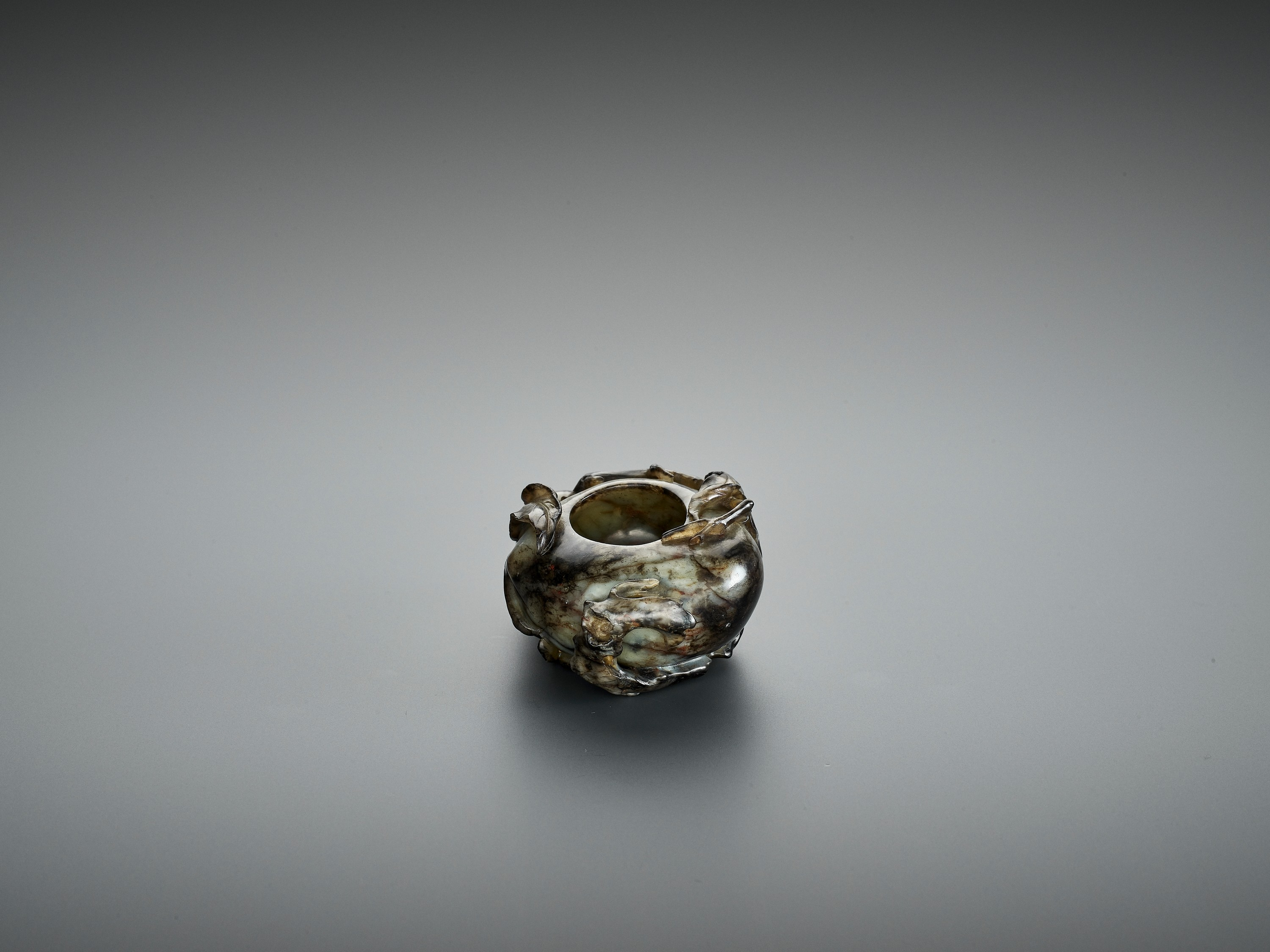 A 'PEACH' BRUSH WASHER, QING DYNASTY - Image 8 of 12