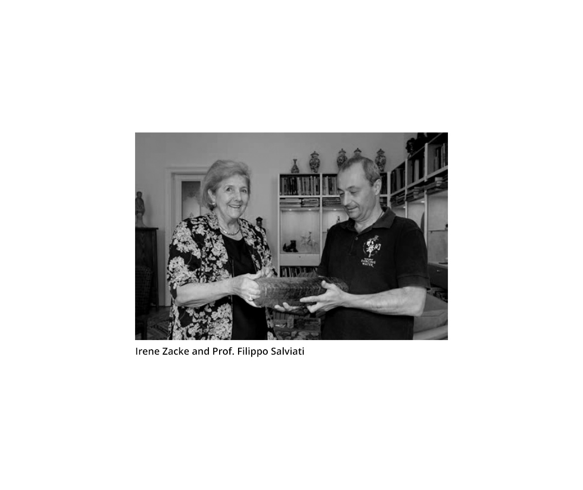 A DARK GREEN JADE OPENWORK 'CLOUD-SCROLL' PENDANT, GOUYUN, HONGSHAN CULTURE - Image 9 of 9