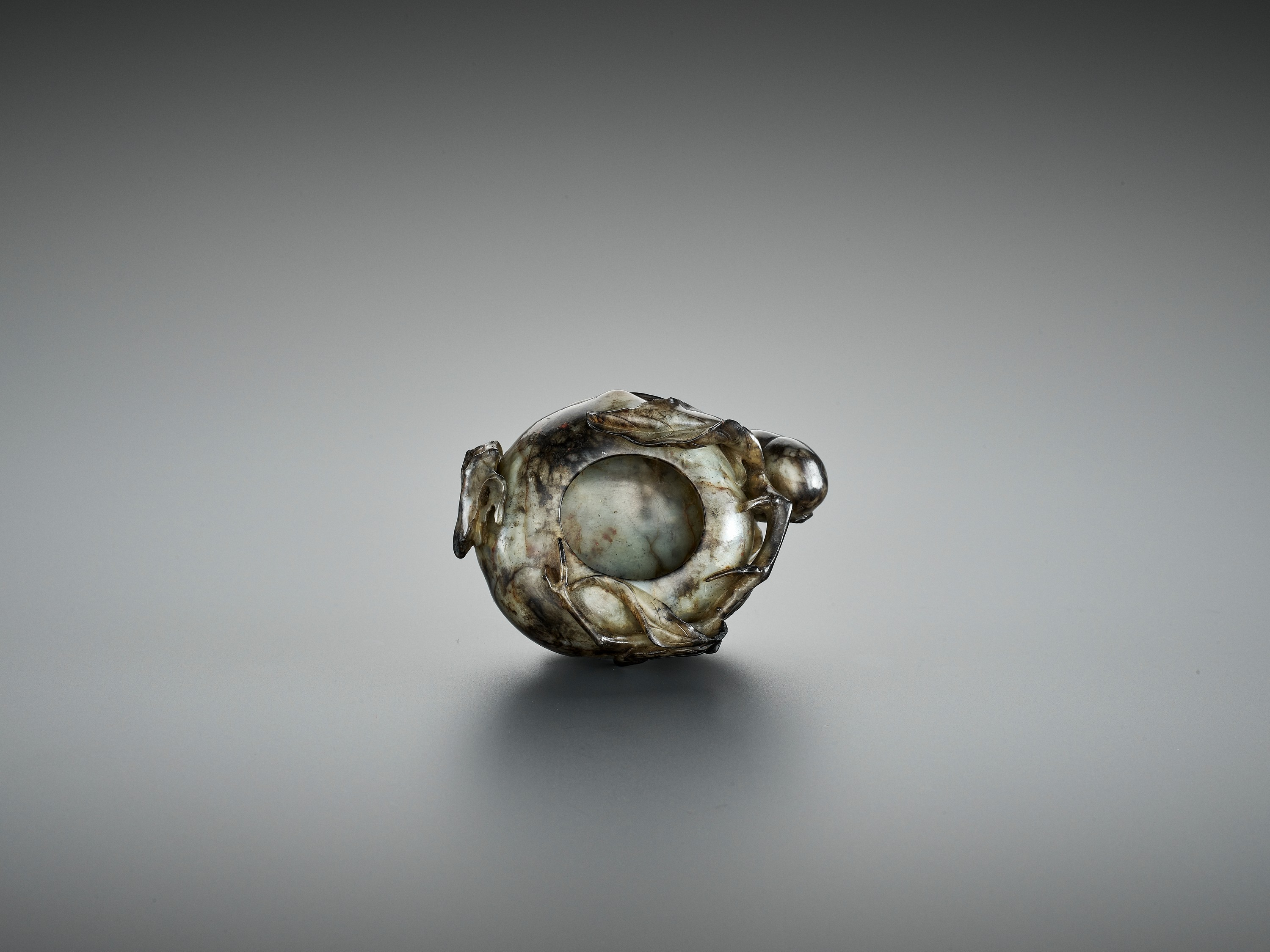 A 'PEACH' BRUSH WASHER, QING DYNASTY - Image 9 of 12