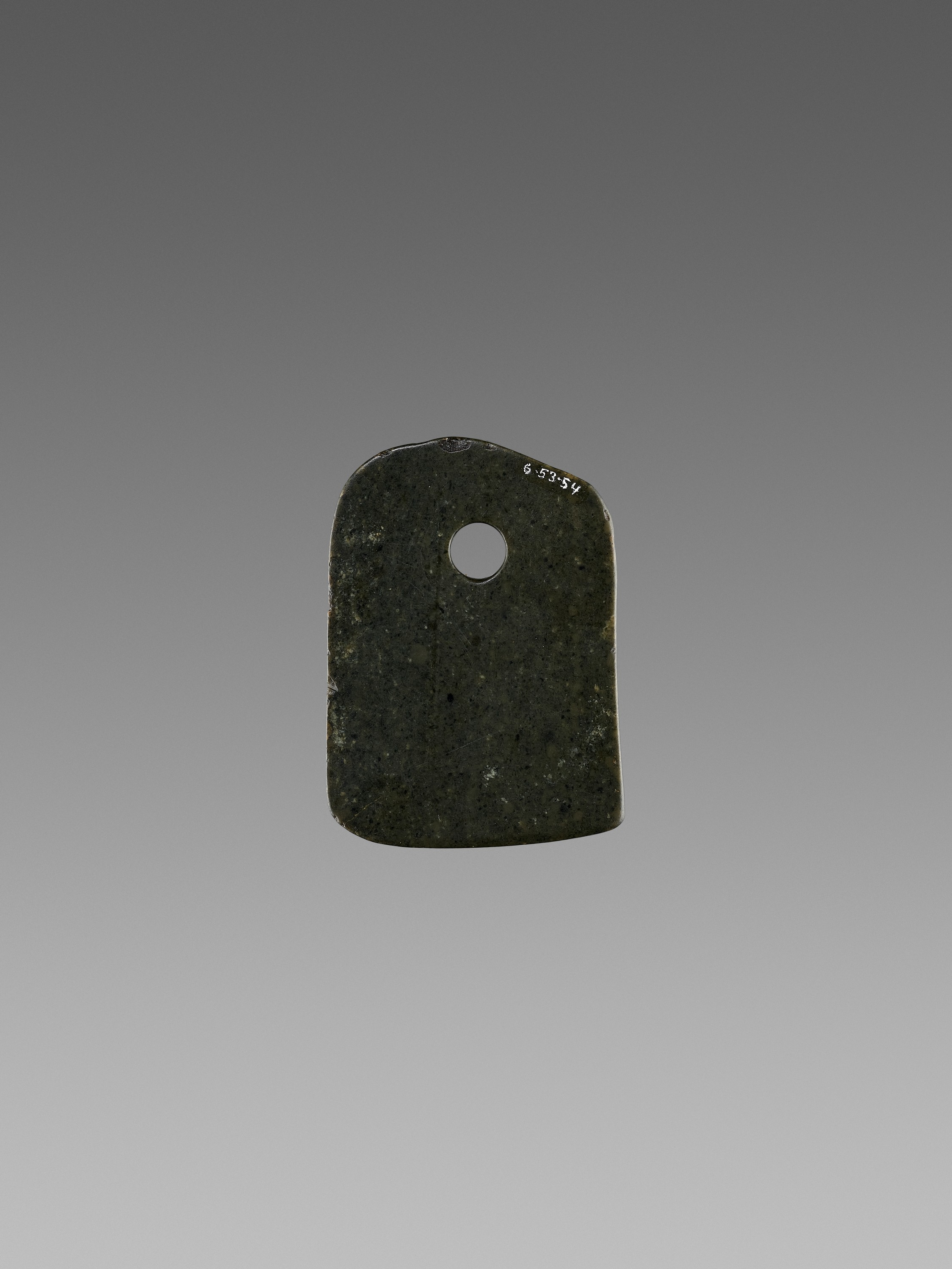 A BLACK JADE AXE, 2ND MILLENNIUM BC - Image 3 of 7
