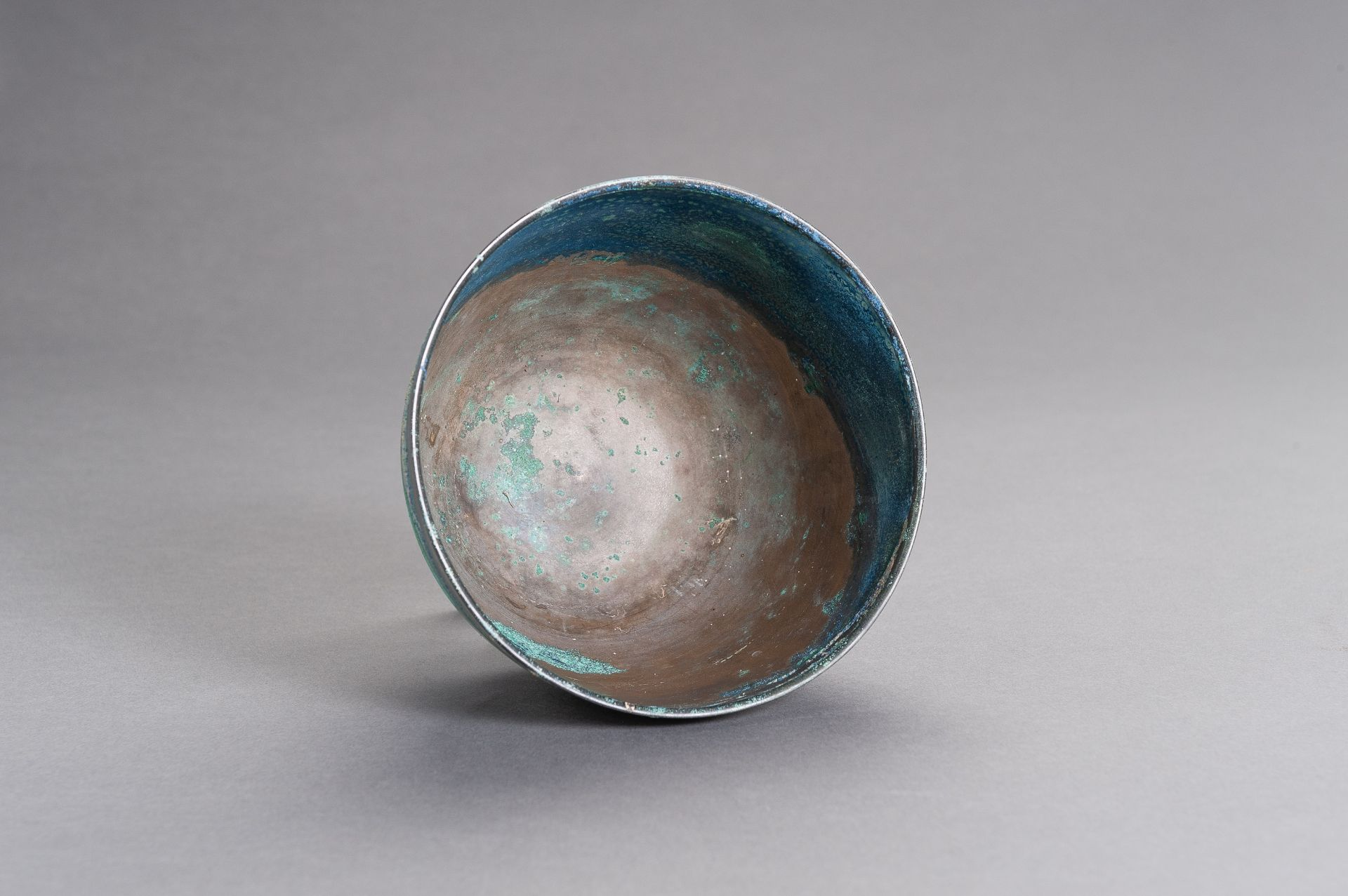 A CHINESE BRONZE BOWL, HAN - Image 8 of 9