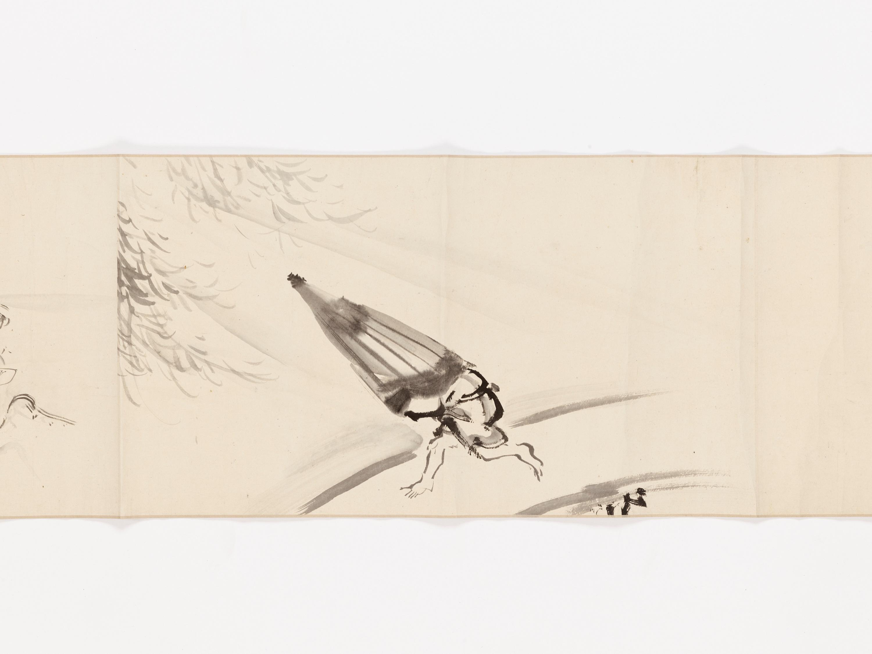 A MAKIMONO WITH TEN SCENES - Image 7 of 8