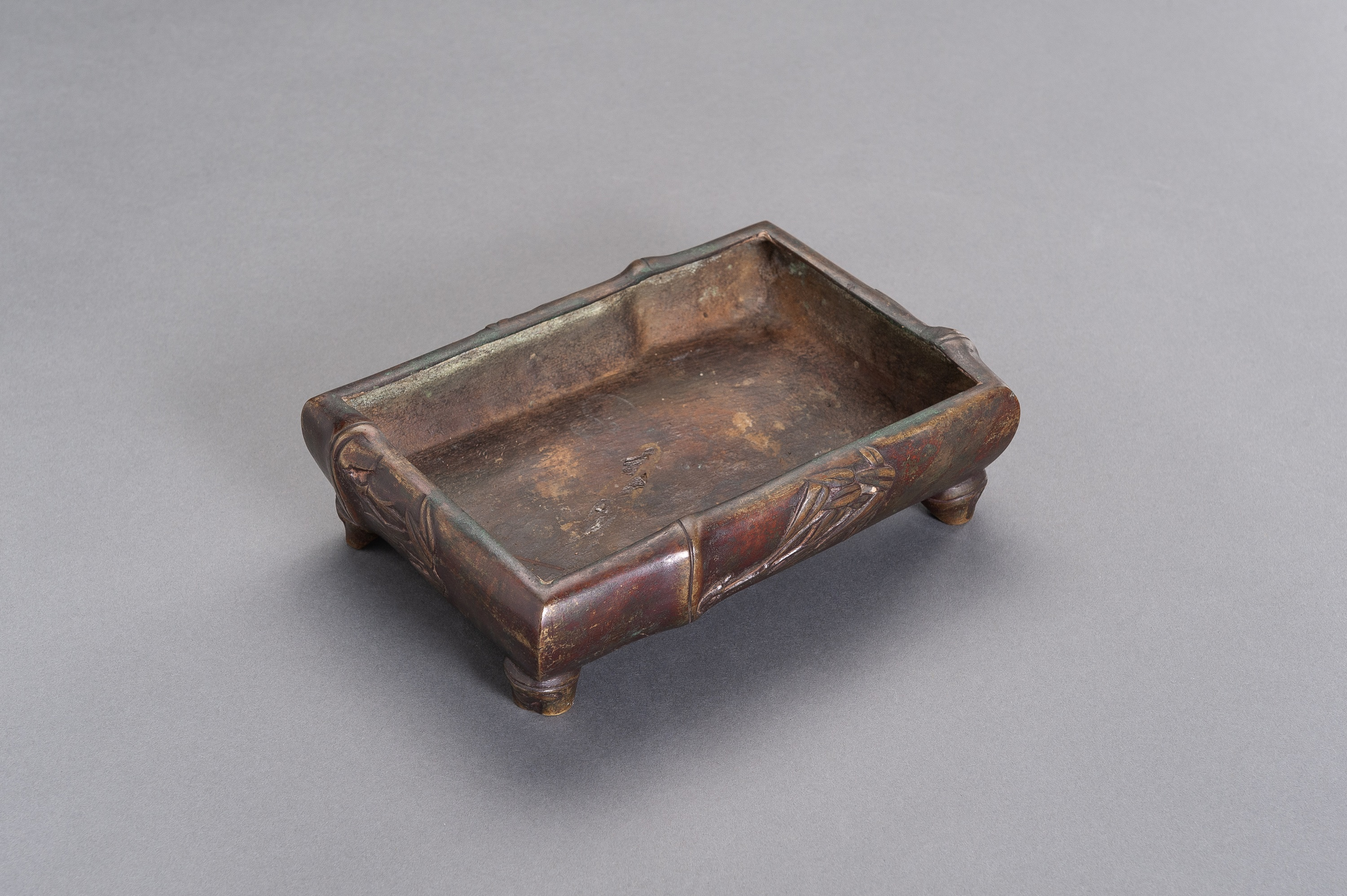 A 'BAMBOO' BRONZE CENSER - Image 6 of 8