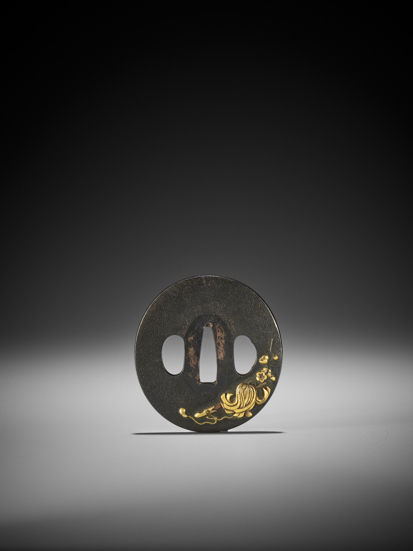 A SHIBUICHI AND GOLD TSUBA