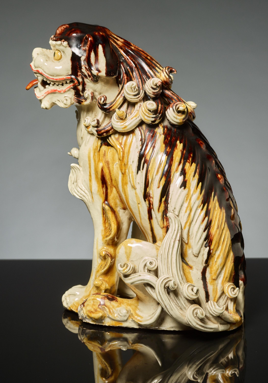 SEATED LION DOG KARASHISHI - Image 2 of 5