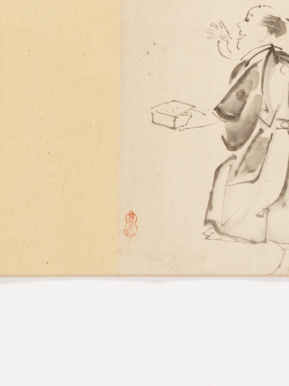 A MAKIMONO WITH TEN SCENES - Image 8 of 8