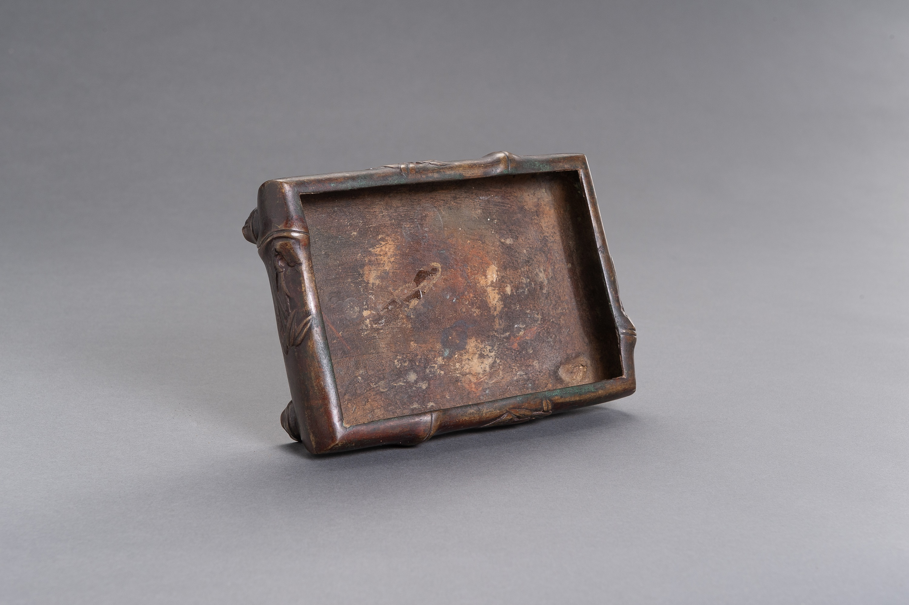 A 'BAMBOO' BRONZE CENSER - Image 8 of 8