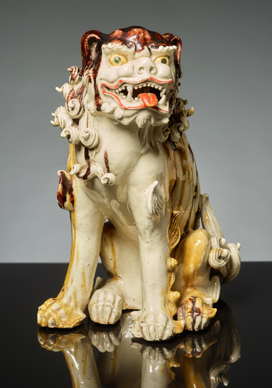 SEATED LION DOG KARASHISHI - Image 5 of 5