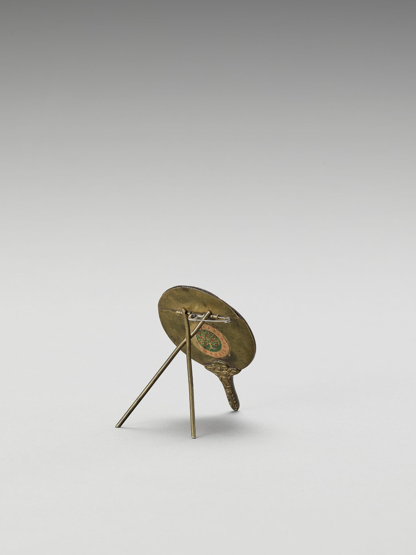 A BRONZE PLACEMENT CARD HOLDER - Image 3 of 3
