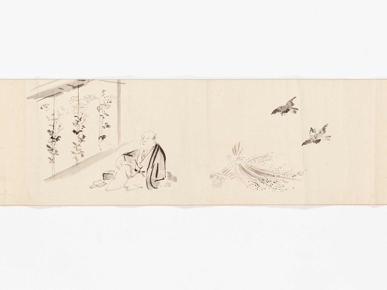 A MAKIMONO WITH TEN SCENES - Image 2 of 8