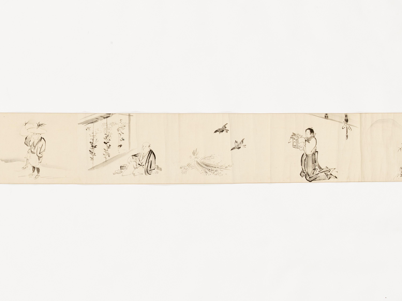 A MAKIMONO WITH TEN SCENES - Image 6 of 8