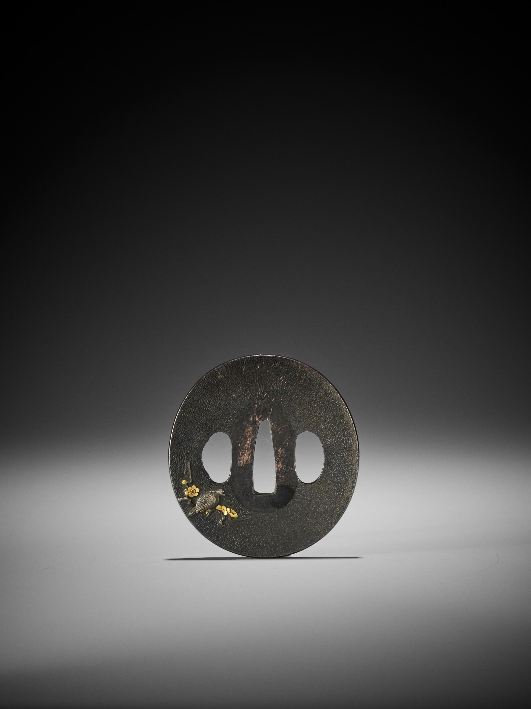 A SHIBUICHI AND GOLD TSUBA - Image 2 of 4