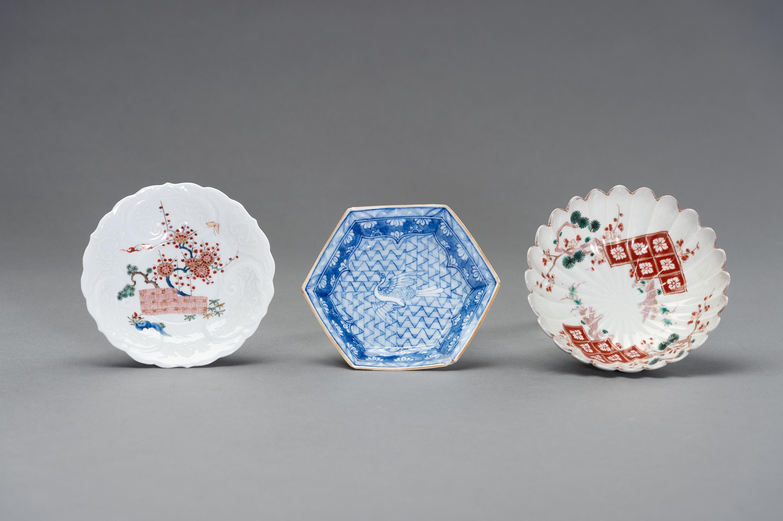 A VARIED SET OF JAPANESE ARITA PLATES