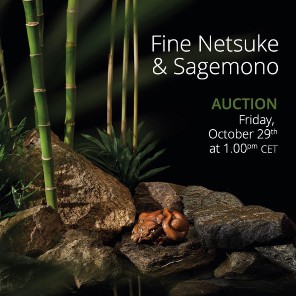 Fine Netsuke & Sagemono