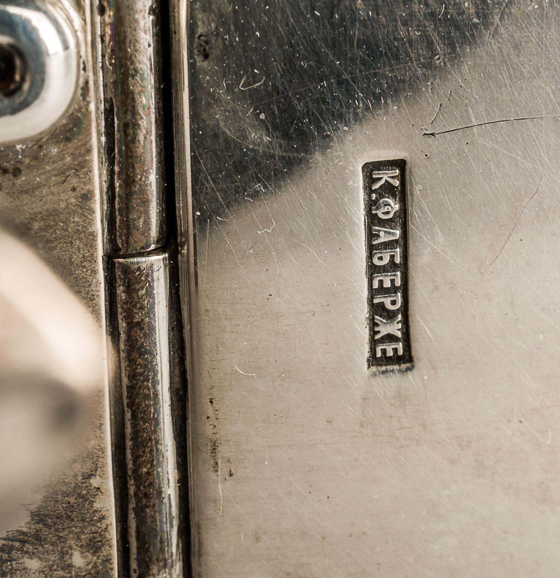 GROSSE ZIGARETTEN- UND ZIGARREN-BOX MIT MONOGRAMM UND DATUM 1. NOVEMBER 1893 - Bild 5 aus 5