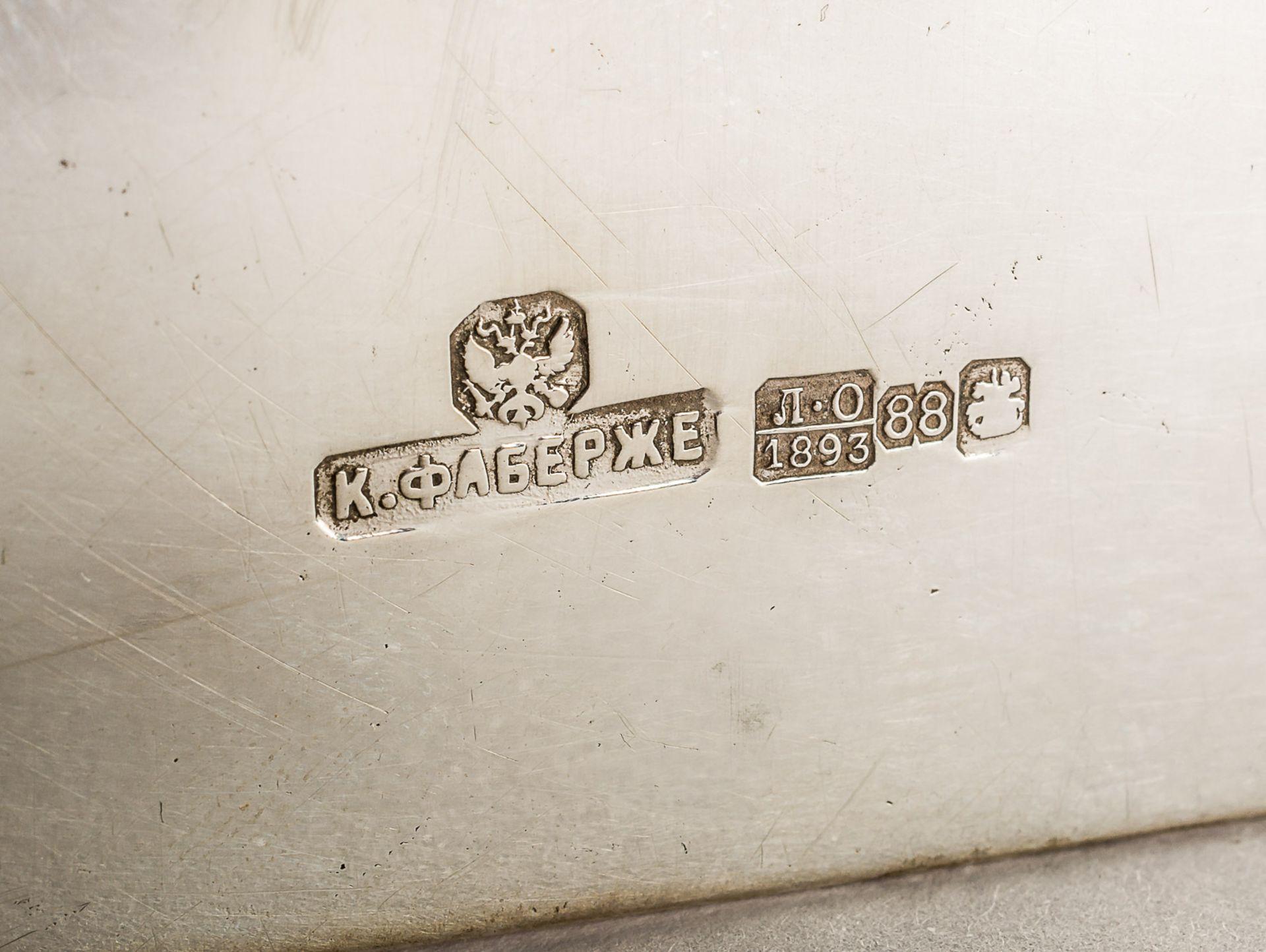 GROSSE ZIGARETTEN- UND ZIGARREN-BOX MIT MONOGRAMM UND DATUM 1. NOVEMBER 1893 - Bild 3 aus 5
