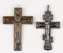 2 SELTENE PRIESTERKREUZE
