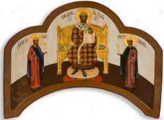 CHRISTUS ALS HOHERPRIESTER UND DIE HL. KÖNIGE DAVID UND SALOMON