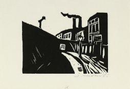 Mohr, Arno - Elf Holzschnitte aus der Folge: Berliner Bilder