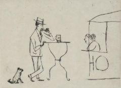 Mohr, Arno - Die erste Bockwurst, Blatt 23 aus der Folge: Mein Lebenslauf
