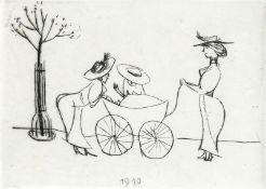 Mohr, Arno - Im Kinderwagen (1910), Blatt 2 aus der Folge: Mein Lebenslauf