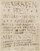 Plakate - Göschel, Eberhard: Textblatt