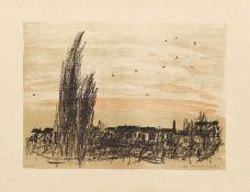 Mohr, Arno - Landschaft mit Vögeln