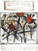 Plakate - Hofmann, Veit: (Florale Komposition)