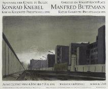 Plakate - Butzmann, Manfred: Niemandsland (nach Konrad Knebel)