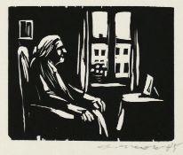 Mohr, Arno - Alte Frau am Fenster
