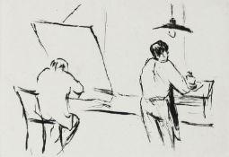 Mohr, Arno - In der Druckwerkstatt