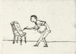 Mohr, Arno - Erster Malversuch, Blatt 8 aus der Folge: Mein Lebenslauf
