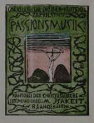 Plakate - Herrmann, Peter: (Christus am Kreuz)